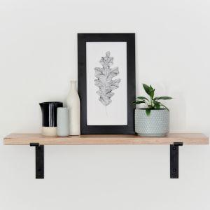 Metal Bracket Shelf   75cm   Jemmervale Designs