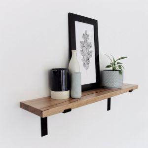 Metal Bracket Shelf | 75cm | Jemmervale Designs