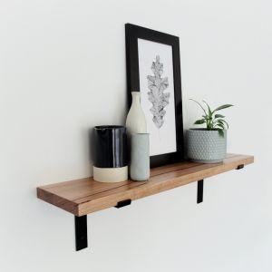Metal Bracket Shelf   85cm   Jemmervale Designs
