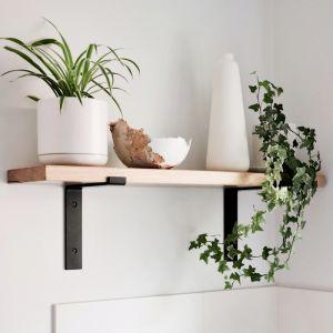 Metal Bracket Shelf | 85cm | Jemmervale Designs
