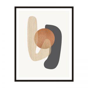 Metalic Compound 2 | Framed Print | Artefocus