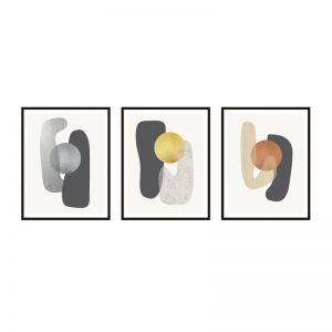 Metallic Compound | Framed Prints Set | ArteFocus