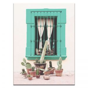 Mexican Window | Canvas or Print by Artist Lane