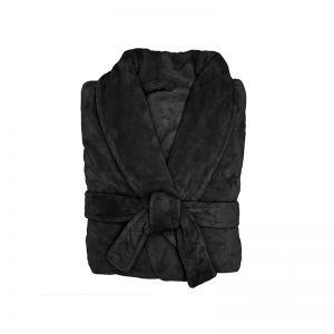 Microplush Bathrobe | Black