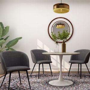Mid-Century Velvet Dining Chair | Set of 2