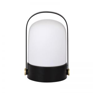 Midas 1 Light Table Lamp in Black | By Beacon Lighting