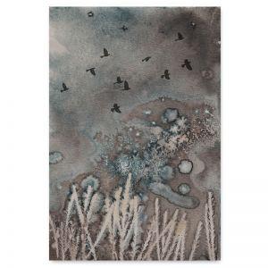 Midnight Fields 2   Art Print by Natascha van Niekerk   Unframed