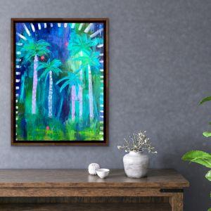 Midnight Jungle | Original Artwork by Sue Fantini