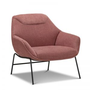 Mii Occasional Lounge Chair | Rosy Paprika