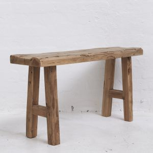 Mikha Rustic Bench Seat Small | Custom Made