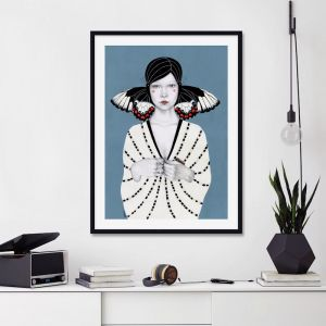 Mila by Sofia Bonati | Unframed Art Print