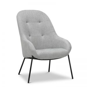 Mila Grey Lounge Armchair