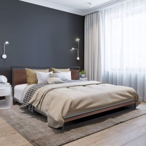 Milano Decor Azure Bed Frame with Headboard | Various Sizes