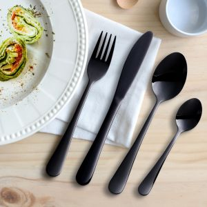 Milano Decor Cutlery | Black
