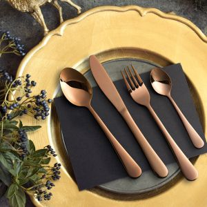 Milano Decor Cutlery | Rose Gold