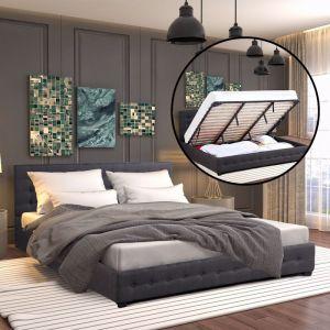 Milano Decor Eden Gas Lift Bed | Dark Grey | Various Sizes