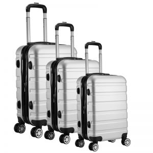 Milano Xpander Series 3 Piece Luggage Set | Various Colours