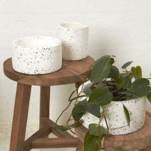 Milla Mini Flecked Pot
