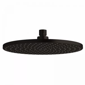 Milli Pure Shower Head 250mm Matte Black | Reece