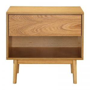 Milo Open Bedside Table
