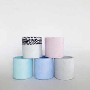 Mini Planter | Various Colours | by Coral and Herb