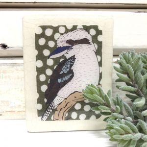 Mini Woodblock | Kookaburra