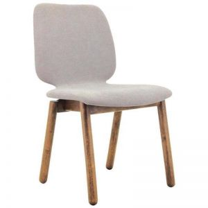 Missie Dining Chair | Cocoa + Light Grey | Modern Furniture