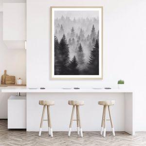Misty Forest Premium Art Print (Various Sizes)