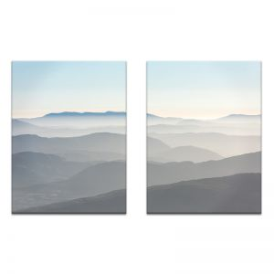 Misty Mountain | Canvas or Print by Photographers Lane