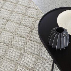 Mitre Floor Rug   Ghost   by Weave Home