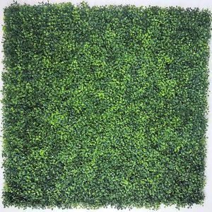 Mixed Boxwood Hedge Panels / Screens UV Resistant 1m x 1m