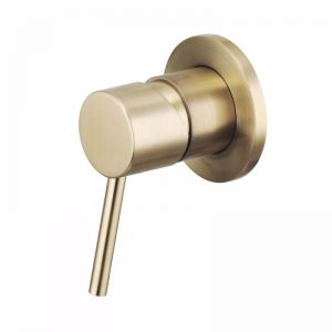 Mizu Drift MK2 Shower Mixer Tap Brushed Gold