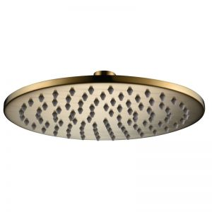 Mizu Drift Overhead Shower Brass Brushed Gold