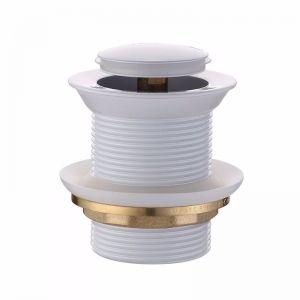 Mizu Drift Pull Out Pop Up Waste 40mm Non-Overflow Gloss White | Reece