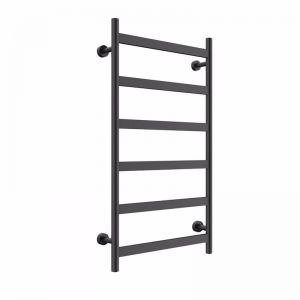 Mizu Stream Heated Towel Rail Matte Black