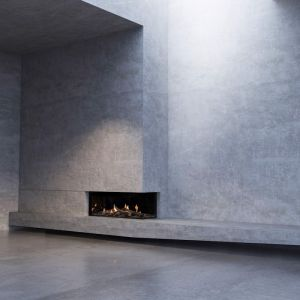 Mode Corner | Two Sided Gas Fireplace