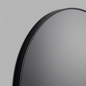 Modern Circular Round Mirror | Grey Tinted Mirror Glass