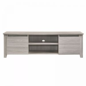 Modern Entertainment Unit | 120cm | White Oak