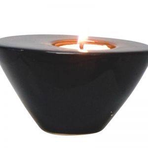 Modern Tealight Holder | Black | CLU Living | Small