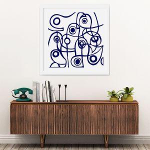 Modernist Blue | Limited Edition | Fine Art Giclee Print