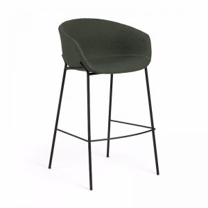 Modine Bench Barstool | Hunter Green | CLU Living
