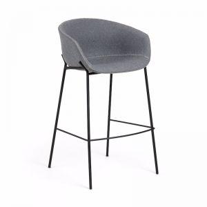 Modine Bench Barstool | Steel Grey | CLU Living