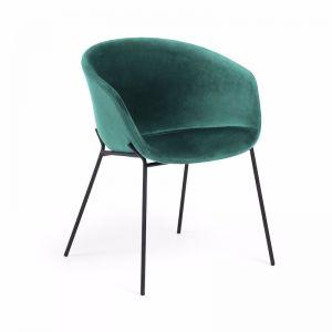 Modine Dining Chair | Emerald Green Velvet | CLU Living