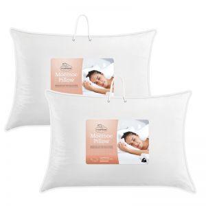 Moemoe Premium Wool Blend Pillow 2 Pack, 74x48cm