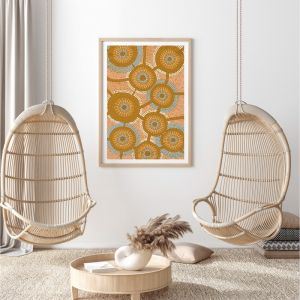 Moiyum Durungul | Framed Canvas Print by Brad Turner