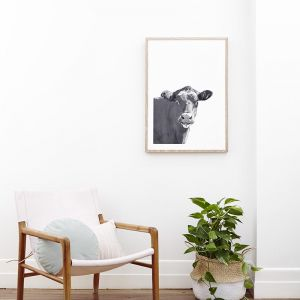 Molly | Black And White Photographic Art Print | Unframed