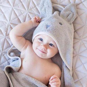 Molly & Moo Beau Bunny Hooded Towel