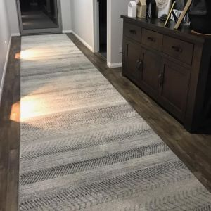 Monaco Herringbone Runner & Rug | Custom Length