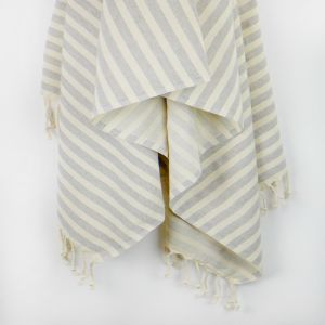 Monaco Turkish Towel | Various Colours | Antique Grey