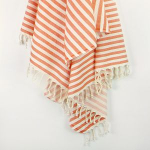 Monaco Turkish Towel | Various Colours | Tangerine